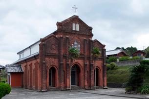 11月 五島列島の楠原教会の写真素材 [FYI01778260]