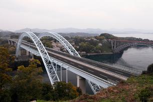 3月春 桜の西海橋公園の写真素材 [FYI01778288]