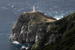 11月 五島列島の大瀬崎断崖の写真素材 [FYI01778289]