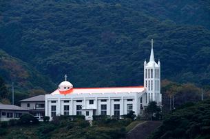 11月 五島列島の桐教会の写真素材 [FYI01778353]