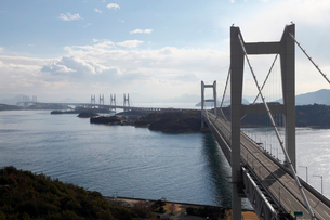 12月初冬 瀬戸大橋の写真素材 [FYI01778387]