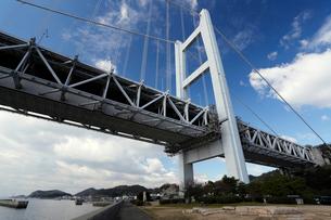 12月初冬 瀬戸大橋の写真素材 [FYI01778422]