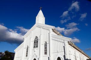 11月 五島列島の水ノ浦教会の写真素材 [FYI01778439]