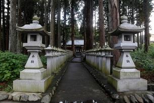 11月晩秋 山宮浅間神社 -富士山世界遺産構成資産-の写真素材 [FYI01778490]