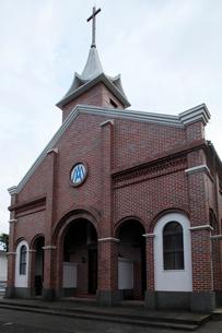 11月 五島列島の井持浦教会の写真素材 [FYI01778519]