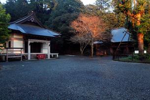 11月晩秋 村山浅間神社 -富士山世界遺産構成資産-の写真素材 [FYI01778561]