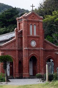 11月 五島列島の堂崎天主堂の写真素材 [FYI01778612]