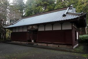 11月晩秋 山宮浅間神社 -富士山世界遺産構成資産-の写真素材 [FYI01778683]