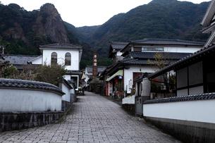 3月春 鍋島焼の里 大川内山の写真素材 [FYI01778685]
