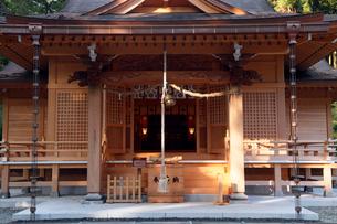 11月晩秋 須山浅間神社 -富士山世界遺産構成資産-の写真素材 [FYI01778686]