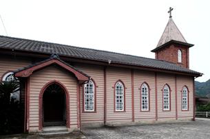 11月 五島列島の旧鯛之浦教会の写真素材 [FYI01778698]