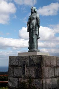 11月 五島列島の祈りの女神の写真素材 [FYI01778745]