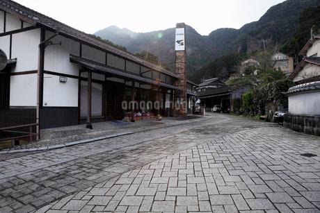 3月春 鍋島焼の里 大川内山の写真素材 [FYI01778788]