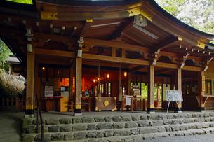 5月 緑の貴船神社 京都の春景色の写真素材 [FYI01778816]