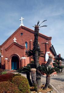 1月,長崎の黒崎教会堂,の写真素材 [FYI01778932]