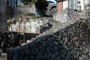 12月 伊勢志摩の産屋(おびや)坂の写真素材 [FYI01778954]