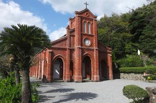11月 五島列島の堂崎天主堂の写真素材 [FYI01778965]