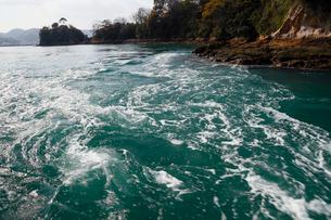 12月初冬 しまなみ海道の潮流体験の写真素材 [FYI01778982]
