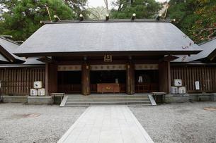 11月 秋の天岩戸神社の写真素材 [FYI01778983]