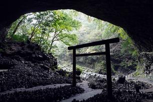11月秋 天の岩戸の写真素材 [FYI01778990]