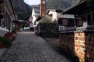 3月春 鍋島焼の里 大川内山の写真素材 [FYI01779007]