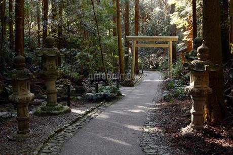 12月 伊勢志摩の天の岩戸の写真素材 [FYI01779009]