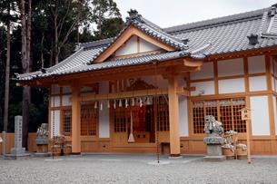 12月 伊勢のパワースポット-石神さん(神明神社)の写真素材 [FYI01779030]