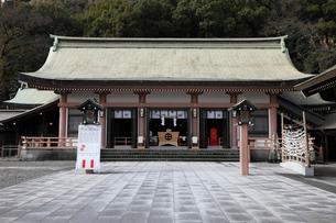 1月 鹿児島市の照国神社の写真素材 [FYI01779155]