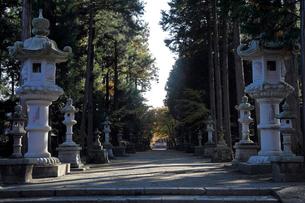 11月晩秋 富士御室浅間神社 -富士山世界遺産構成資産-の写真素材 [FYI01779170]