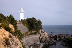 12月 伊勢志摩の安乗埼(あのりさき)灯台の写真素材 [FYI01779297]