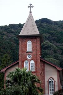 11月 五島列島の旧鯛之浦教会の写真素材 [FYI01779330]