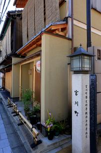 5月 宮川町 -京の花街-の写真素材 [FYI01779350]