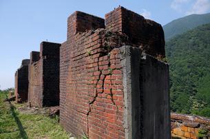 7月のマイントピア別子鉱山  四国の産業遺産の写真素材 [FYI01779372]