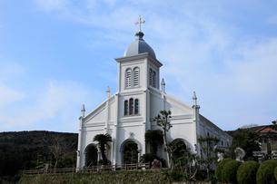 1月 天草諸島の大江天主堂の写真素材 [FYI01779376]