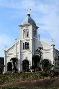 1月 天草諸島の大江天主堂の写真素材 [FYI01779425]