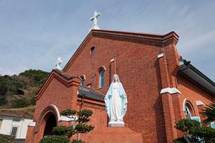 1月 長崎県外海の黒崎教会堂の写真素材 [FYI01779579]