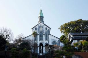 2月,長崎の大浦天主堂の写真素材 [FYI01779644]