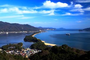 11月 天橋立 日本三景の一つの写真素材 [FYI01779979]