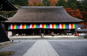 11月秋 紅葉の永源寺 滋賀の秋景色の写真素材 [FYI01780199]