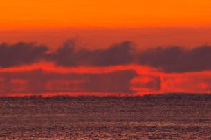 朝の海の写真素材 [FYI01780424]