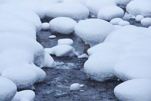 三階滝川の冬の写真素材 [FYI01780531]