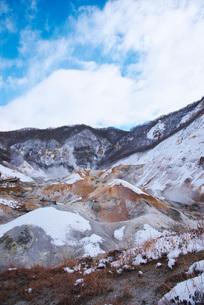 地獄谷の冬の写真素材 [FYI01780840]
