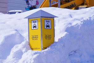 タクシー乗り場の写真素材 [FYI01781094]