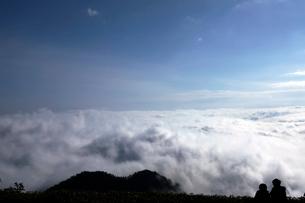 6月 津別峠から見た雲海の写真素材 [FYI01781131]
