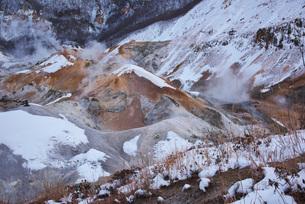 地獄谷の冬の写真素材 [FYI01781151]