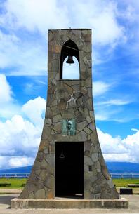 7月 美しの塔  夏の美ヶ原高原の写真素材 [FYI01781167]