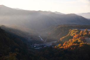 開田高原の朝の写真素材 [FYI01781189]