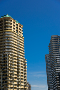 神戸市の高層マンションの写真素材 [FYI01782067]