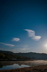 青空 空 雲 太陽の写真素材 [FYI01782155]