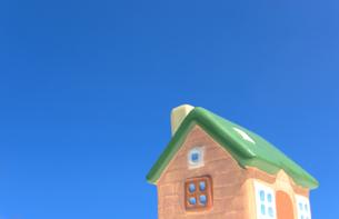ミニチュアの家の写真素材 [FYI01782308]